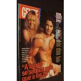 Gente_1999__osvaldo Laport & Soledad Silveyra_carlos Menem