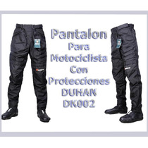 Pantalon Impermeable Para Motocilsmo Duhan Dk002 Talla M
