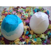 Cascaron De Huevo Relleno Confeti Fiesta Diversión