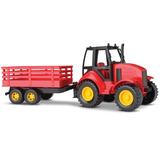 Trator Agromak Carreta - Silmar - 6860 Vermelho