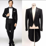 Terno Smoking Slim Fit Masculino De Luxo Pronta Entrega