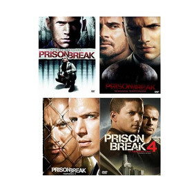 Prision Break Las 4 Temporadas Serie De Tv En Dvd