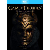 Blu-ray Game Of Thrones Seasons 1-5 / Incluye 5 Temporadas