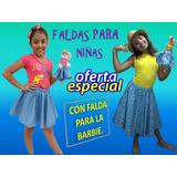 Faldas Para Niña Con Falda Para Barbie Varias Tallas