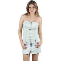 Vestido Curto Jeans Planet Girls Tomara Que Caia, R: 5602440
