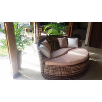 Chaise Sofa Para Sala, Piscina, Varanda Em Fibra Sintetica