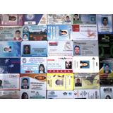 Credenciales De Pvc, Identificación, Invitaciones