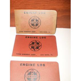 Libreta Engine Log Avion Piper