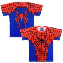 10 Blusas Camiseta Infantil Super Herois Revenda Sublimação