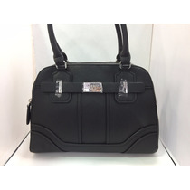 Bolsa Guess Sy644908 Acme Color Negro 100% Original