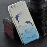 Case Iphone 6/6s Delfines +regalo + Envio!