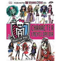 Libro Monster High Character Encyclopedia - Nuevo