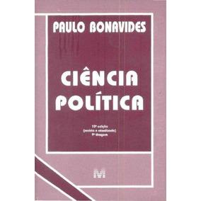 E-book Ciência Política - Bonavides, Paulo - Direito