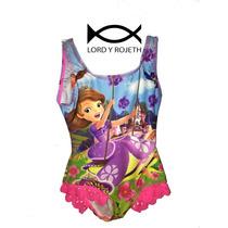 Vestido De Baño Enterizo Para Niña Animaciones Disney