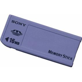 Cartão De Memória Memory Stick 16mb Sony