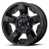 Rines 16 Polaris Rzr Kmc Xd Series Rockstar 2 Msa 4/156