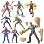 Spider Man Marvel Legends Sandman Series Set Completo
