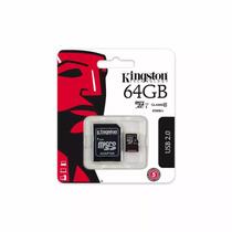 Memoria Micro Sd Kingston 64 Gb Class 10 Para Celular/tablet