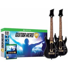 Guitar Hero Live - 2 Guitarras Y Juego One Sellado Nuevo