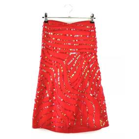 Vestido Lentejuelas Rojo Kosiuko
