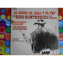 Hugo Montenegro Lp El Bueno, El Malo Y El Feo 1978