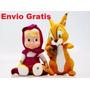 Masha Y El Oso! El Paquete De Dos Muñecos! Envío Gratis!