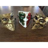 Máscara Veneziana - Bauta , Diversos Acabamentos