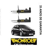 Par Amortecedor Dianteiro Peugeot 206 207 1.0 1.4 1.6 Monroe