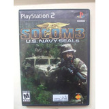 Ps2 Socom 3 Us Navy Seals Impecable Play Station 2