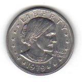 1 Dollar 1979 Antigua Moneda De Estados Unidos - Hm4