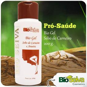 Gel Sebo De Carneiro E Aroeira 200g Bioseiva