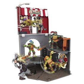 Tartarugas Ninja Playset Pop-up Alley - Br155