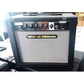 Cubo Amplificador Guitarra Warm Music Gw15r+ Reverb Garantia