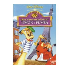 Dvd Infantil Cenando Con Timon Y Pumba