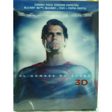 Man Of Steel - Bluray3d+bluray+dvd+digital Copy