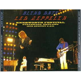 Led Zeppelin Box Blind Date Knebworth Festival 79 Novo Raro