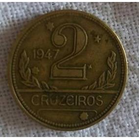 Moeda De 2 Cruzeiros De 1947 Mapa