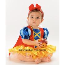Disfraz De Blancanieves Princesa Para Bebe Niña Anaindy