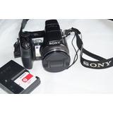 Camara Semi Profesional Sony Dsc-h9 8.1 Pixeles Cybershot
