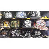 Kit Com 6 Bonés Mafia Classic Hats