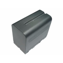 Bateria Modelo Np-f970 C/carg Para Lamparas Led Y Videocama