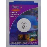 Bolas 6 Bolinhas Tenis Mesa Raquete Ping Pong Giant Dragon