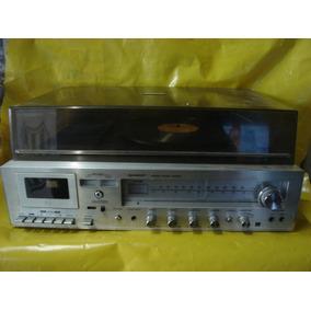 Conjto De Som 3 X 1 Sharp Sg-220 - Impecavel - U. Dono - Ok.