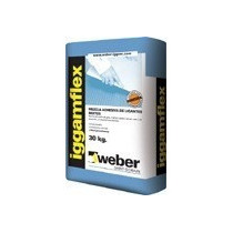 Pegamento Para Porcelanato Weber Iggamflex X 30 Kg