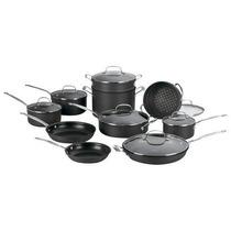 Bateria De Cocina De 17 Piezas Marca Cuisinart Antiadherente