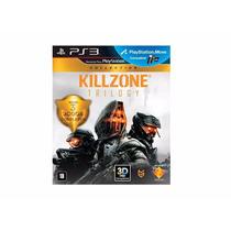 Jogo Killzone Trilogy 3 Jogos Americano Lacrado Collection