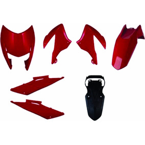 Kit Carenagem Completa Bross 150 Vermelho 2011/2012 Sportive