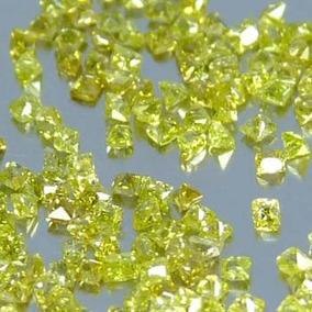 Lote 20 Hermosos Diamantitos Canario Corte Baby Princess Vmj