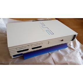 Playstation 2 Branco Japonês P/ Colecionador