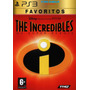 Ps3 Os Incriveis The Incredibles Psn Midia Digital Original